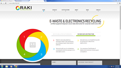 R.A.K.I's new website brings more user interface than its predecessor.