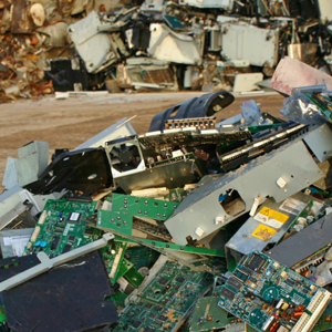 Image that shows Electronics Recycling