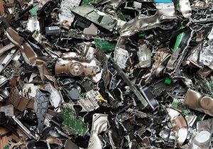 shredded hard drives for secure data destruction