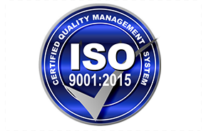 ISO certified quality management system e-recycling badge